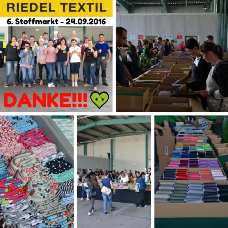 6. Stoffmarkt Riedel Textil September 2016