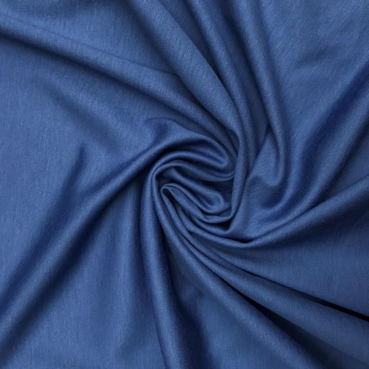 Baumwollinterlock 150g/m² Mittelblau 0,25m (001422)