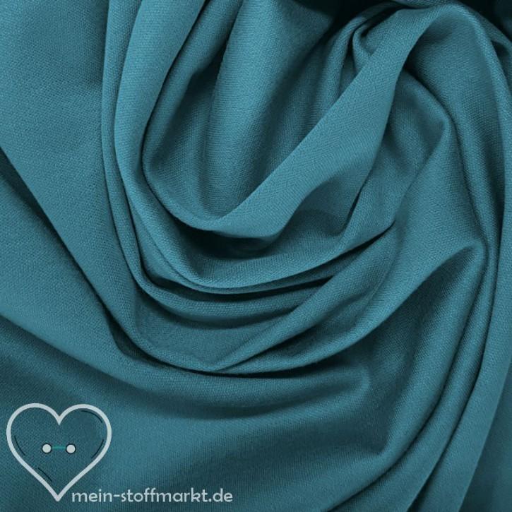 Baumwollinterlock 135g/m² Blau 0,25m (001422)