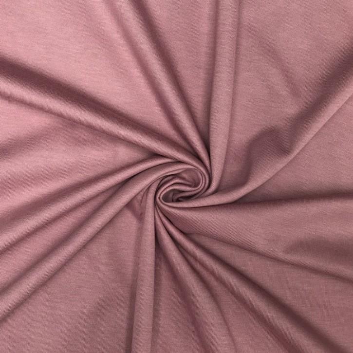 Singlejersey 100% Baumwolle  135g/m² Altrosa 0,25m (146000)