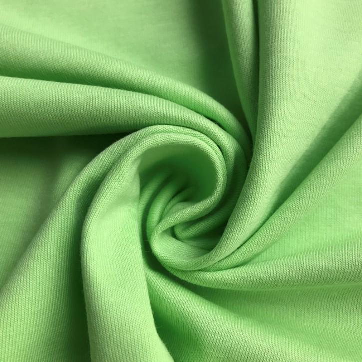 2. WAHL Singlejersey 100% Baumwolle  135g/m² Hellgrün 0,25m (146000)