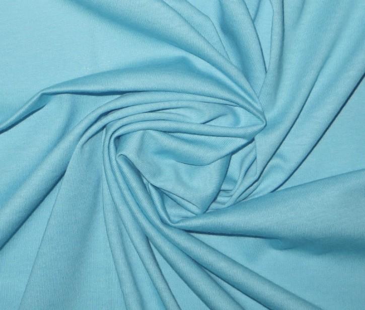 Singlejersey 100% Baumwolle  135g/m² Hellblau 0,25m (146000)