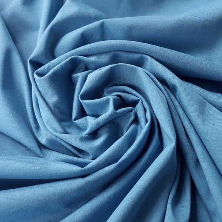 Singlejersey 100% Baumwolle  120g/m² Hellblau 0,25m (150154)