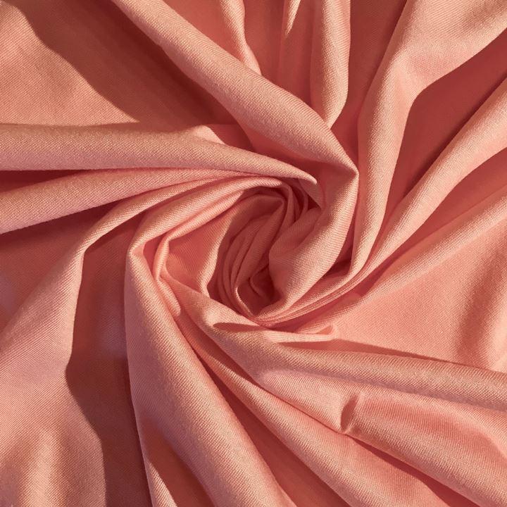 Singlejersey Baumwolle/Modal 135g/m² Apricot 0,25m (242000)