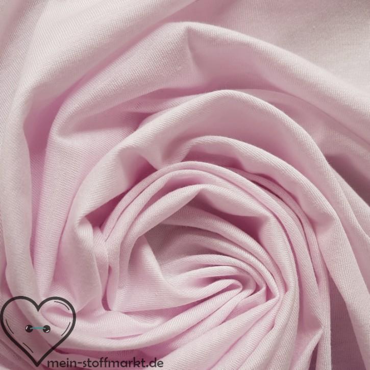 Singlejersey Baumwolle/Modal 135g/m² Rosa 0,25m (242000)