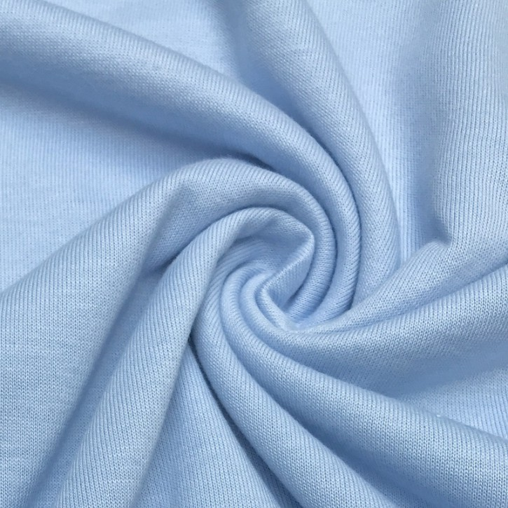 Singlejersey Baumwolle/Modal 130g/m² Himmelblau 0,25m (242000)