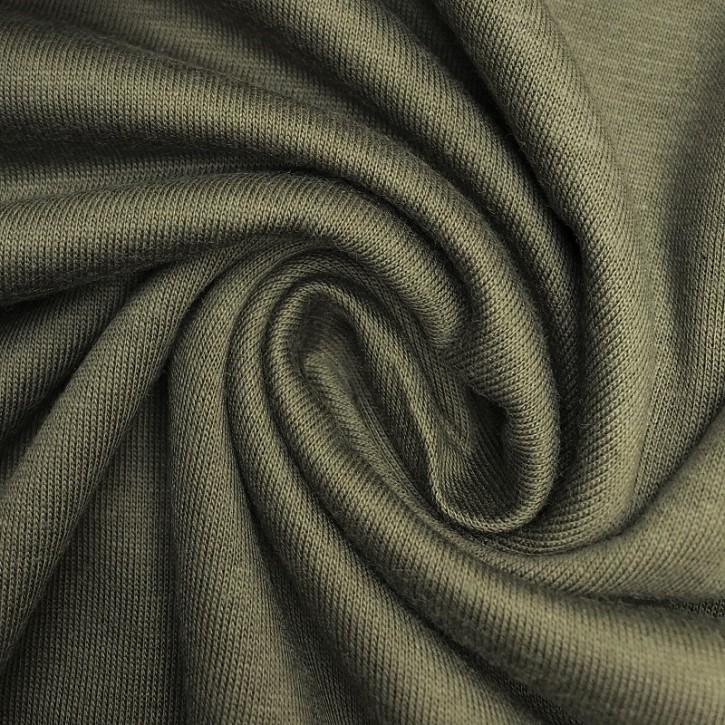 Singlejersey Baumwolle/Modal 130g/m² Khaki 0,25m (242000)
