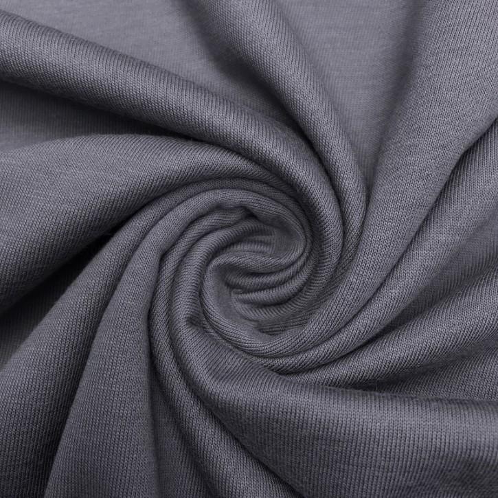 Singlejersey Baumwolle/Modal 130g/m² Grau 0,25m (242000)