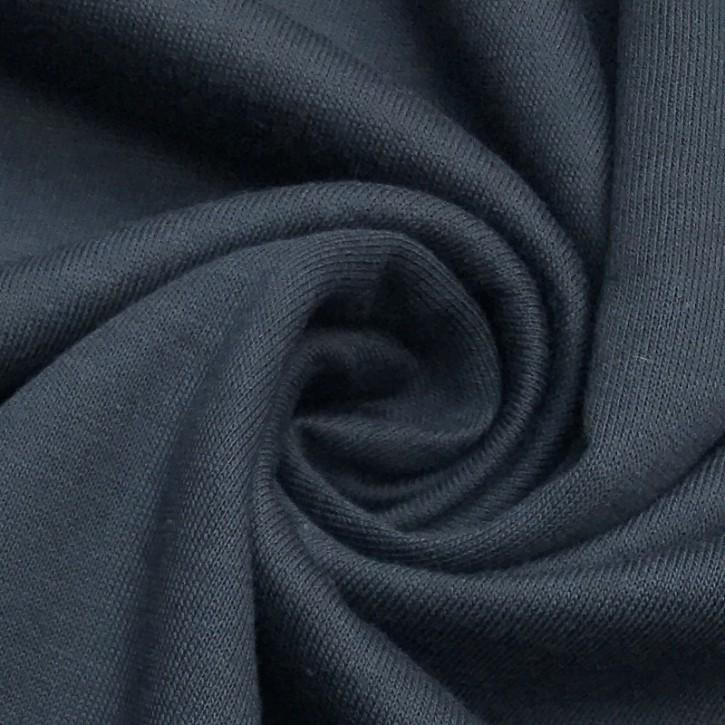 Singlejersey Baumwolle/Modal 130g/m² Graphit Grey 0,25m (242000)