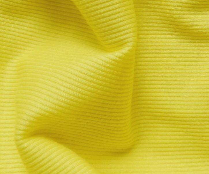Feinripp Baumwolle/Elastan 160g/m² Gelb 0,25m (258012)