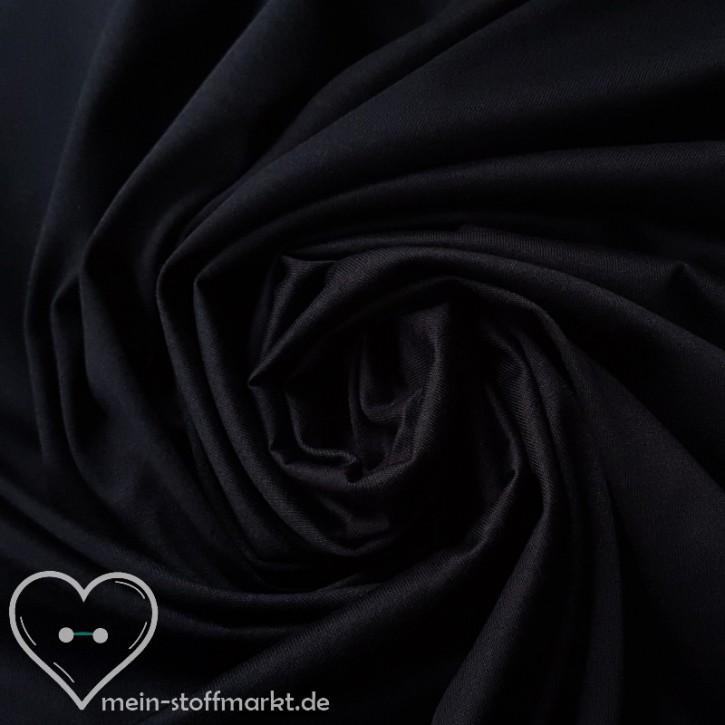 Singlejersey 100% Baumwolle  135g/m² Schwarzblau 0,25m (301050)