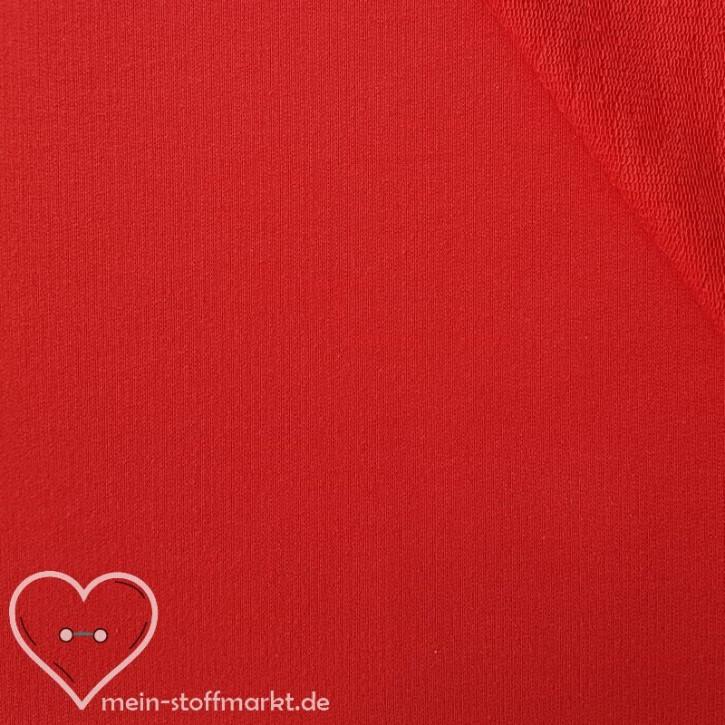Sommersweat Baumwolle/PES/Elastan 270g/m² Rot 0,25m (351010)