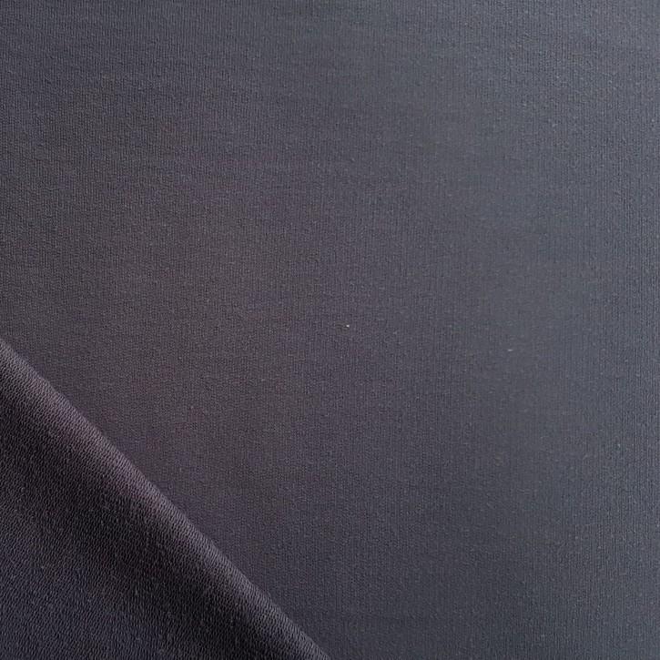 Sommersweat Baumwolle/PES/Elastan 270g/m² Dunkelgrau 0,25m (351010)