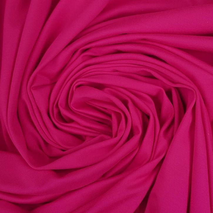 Baumwolljersey mit Elastan 170g/m² Pink 0,25m (358064)