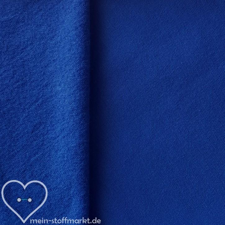 Sweat geraut Baumwolle/Elastan 225g/m² Blau 0,25m (358115)