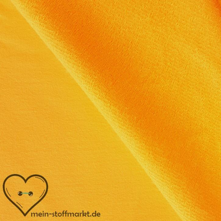 Sweat Baumwolle/Elastan 280g/m² Gelb 0,25m (358119)