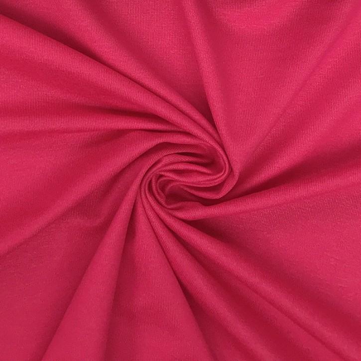 Viskosejersey mit Elastan 190g/m² Pink 0,25m (368029)