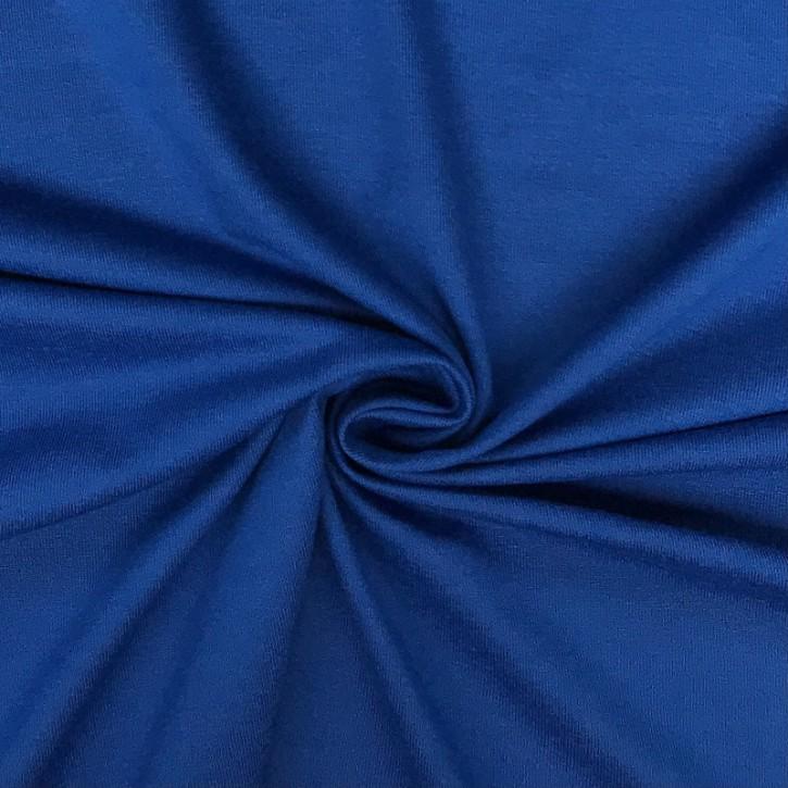 Viskosejersey mit Elastan 190g/m² Mittelblau 0,25m (368029)