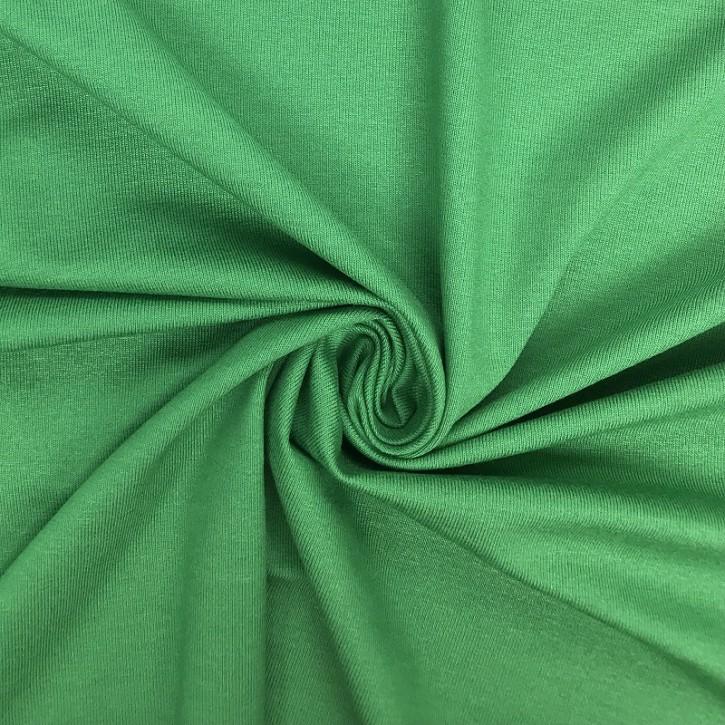 Viskosejersey mit Elastan 190g/m² Grün 0,25m (368029)