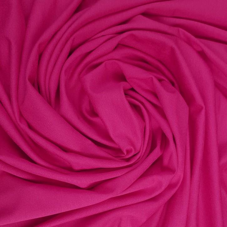 Viskosejersey mit Elastan 200g/m² Pink 0,25m (368029)