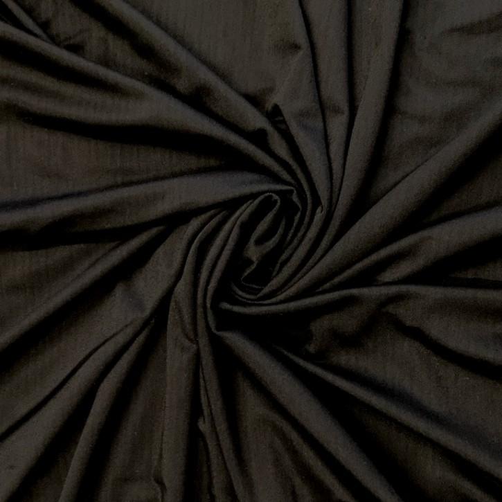 Singlejersey Modal/Elastan 200g/m² Schwarz 0,25m (368076)