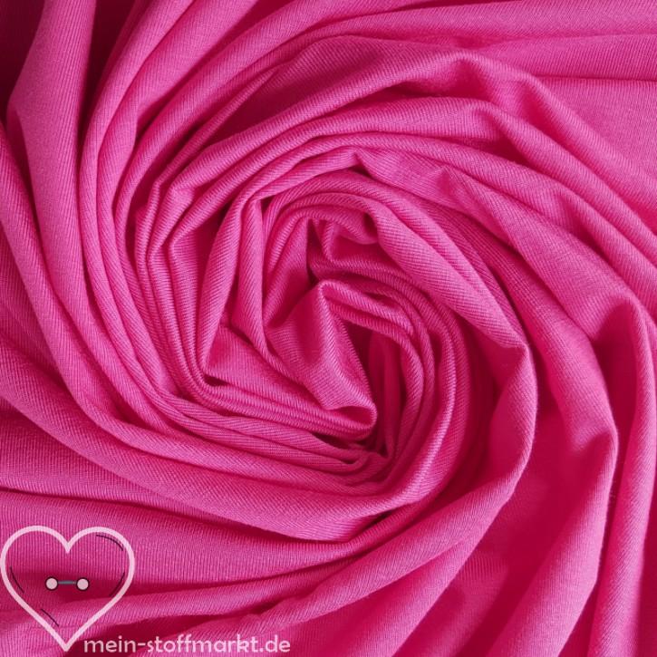 Viskosejersey mit Elastan 240g/m² Pink 0,25m (368101)