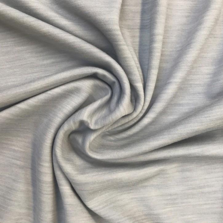 Jacquard Doubleface Modal/Schurwolle/Polyamid 175g/m² Hellgrau 0,25m (846002)
