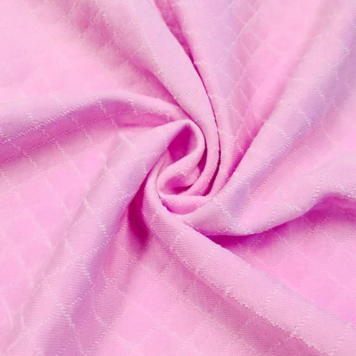 Steppkaro Baumwolle Polyester Rosa/Weiß 0,25m (851018)