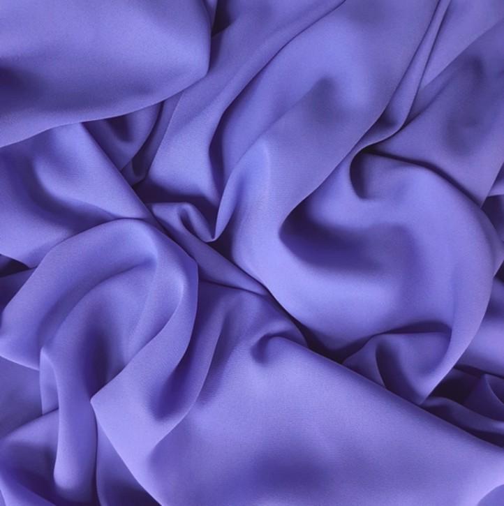 Blusenstoff Georgette Lavendel 0,25m (910001)