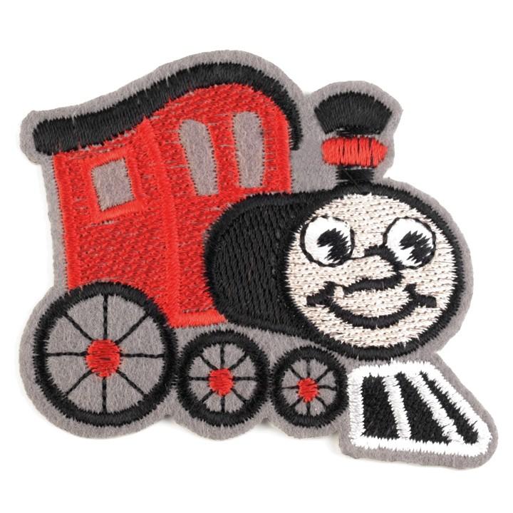 Aufbügler Lokomotive Rot