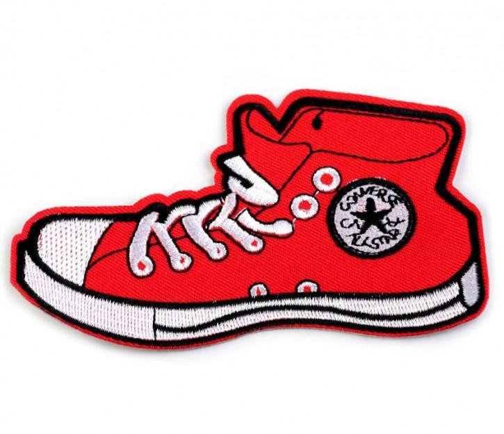 Aufbügler Schuh Rot