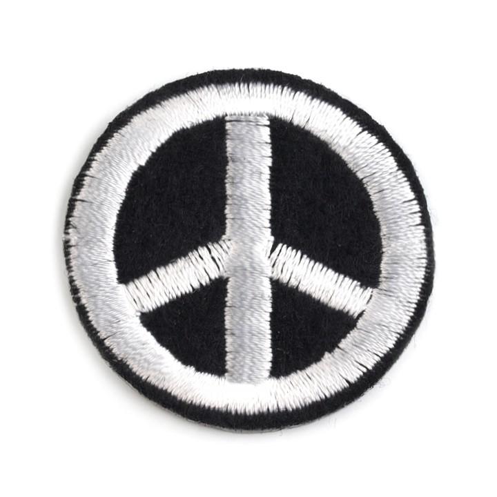 Aufbügler Peace-Zeichen
