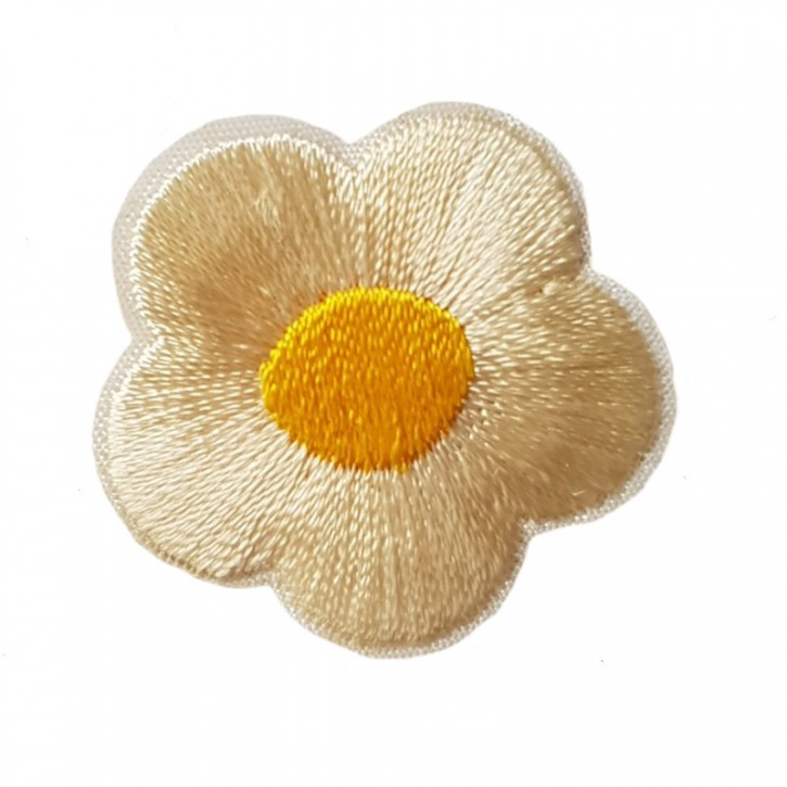 Aufbügler Blume Creme