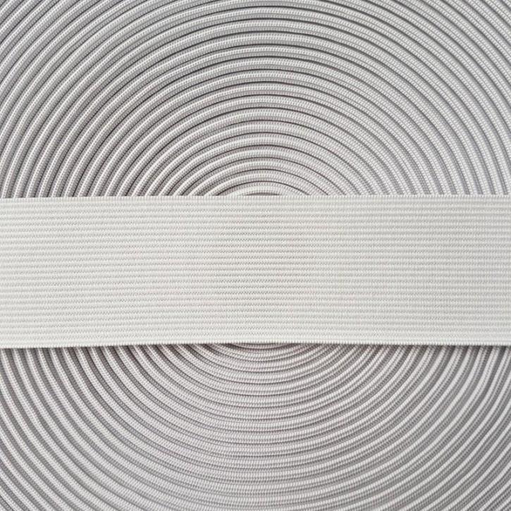 Gummiband weiß 40mm x 2m
