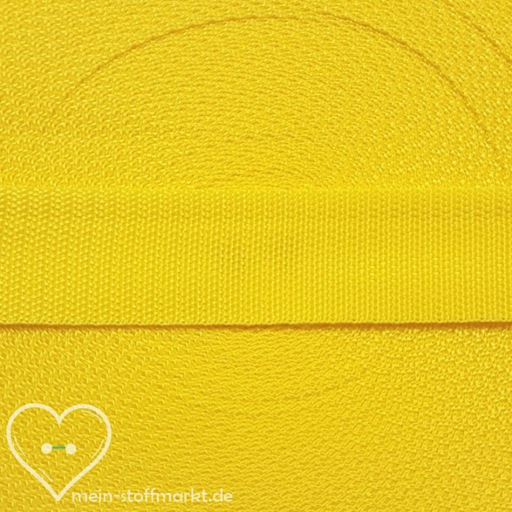 Gurtband Blazing Yellow 30mm x 2m