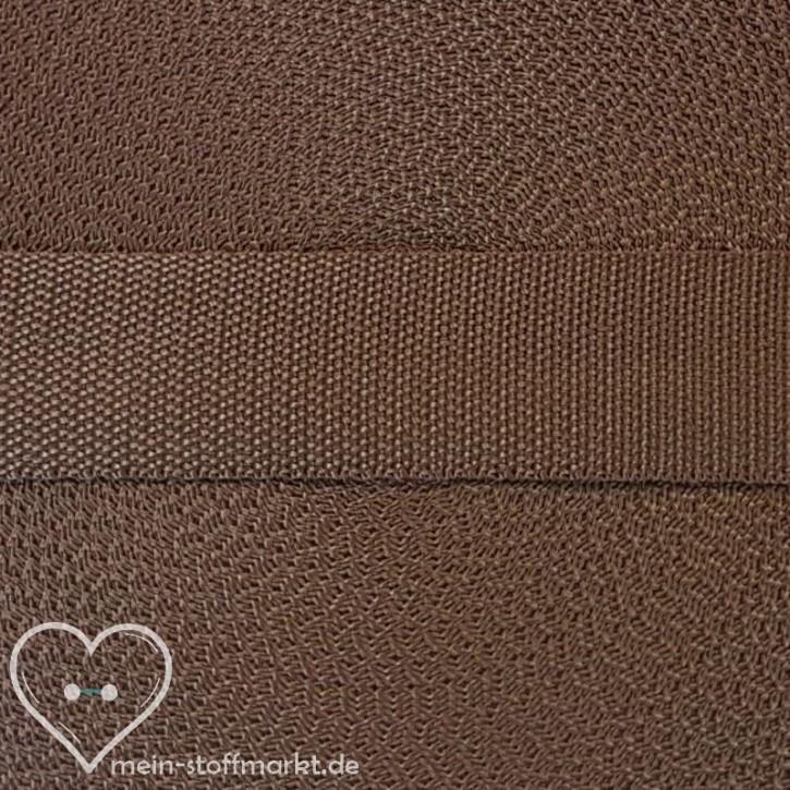 Gurtband Brunette 30mm x 2m