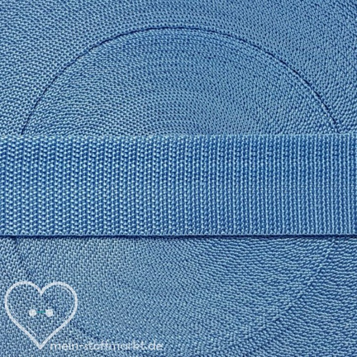 Gurtband Ethereal Blue 30mm x 2m
