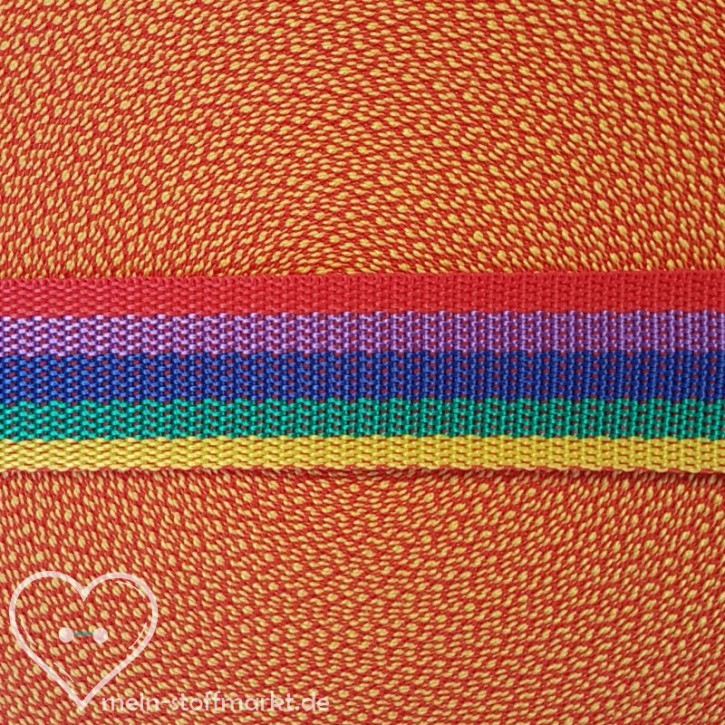 Gurtband Multicolored 30mm x 2m