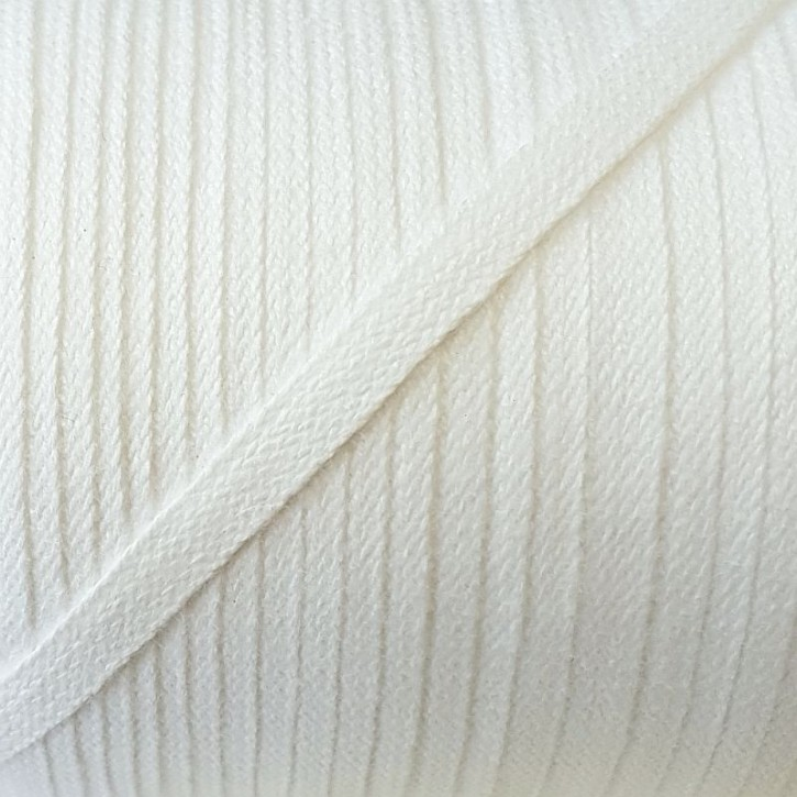 Kordel Baumwolle 5mm x 2m Weiß