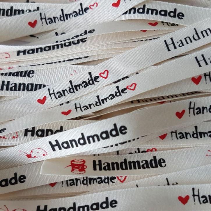 """Label """"handmade"""" 6er"""