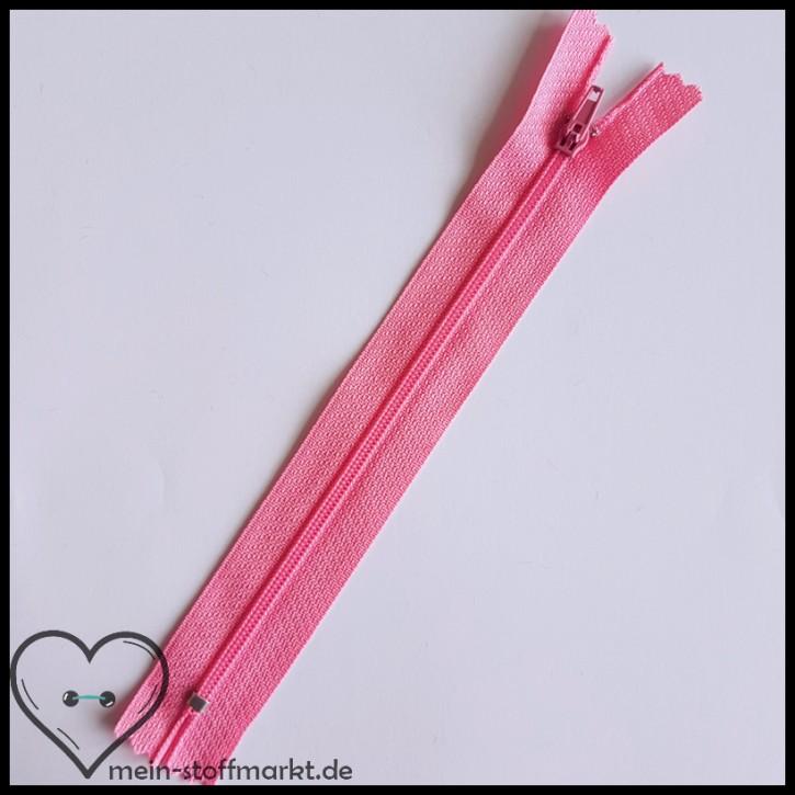 Reißverschluss nicht teilbar 16cm Rosa