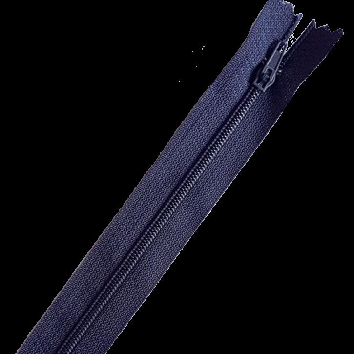 Reißverschluss nicht teilbar 12cm Dunkelblau