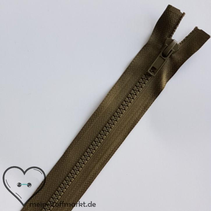 Reißverschluss teilbar 30cm Oliv