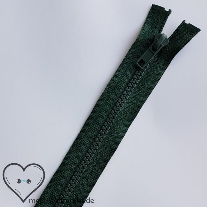 Reißverschluss teilbar 65cm Dunkelgrün