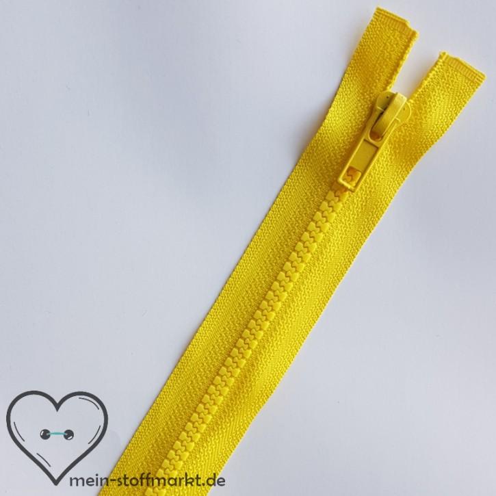 Reißverschluss teilbar 85cm Gelb