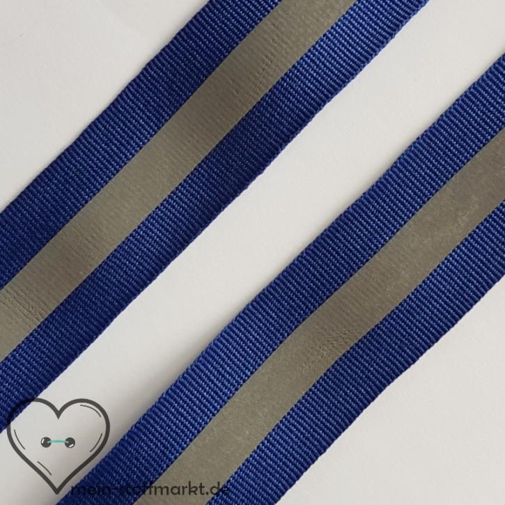 Reflektorband Blau 30mm x 1m