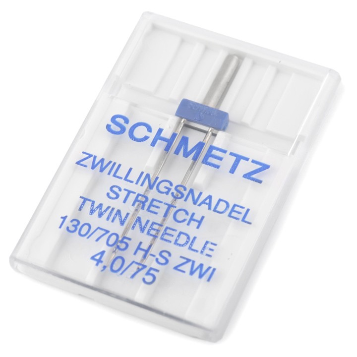 Zwillingsnadel Stretch 75 130 / 705 H 4,0mm
