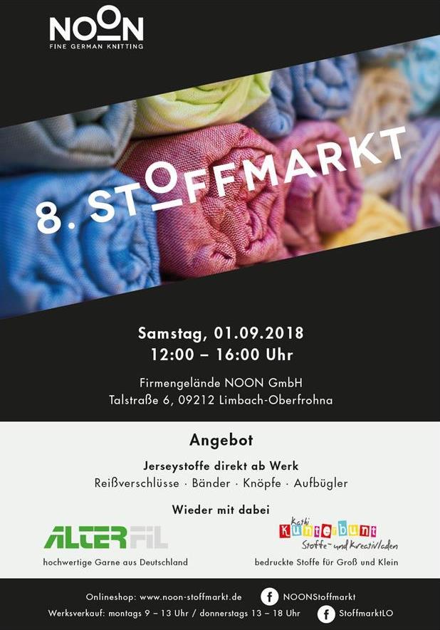 Stoffmarkt NOON 2018