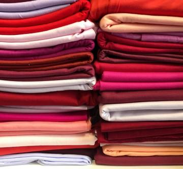 Ü-Stoffpaket Jersey 100% Baumwolle Rottöne