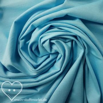 2. WAHL Singlejersey 100% Baumwolle 135g/m² Hellblau 0,25m (146000)
